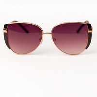 Glamour Girl Sunnies, Black