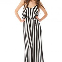 Vertical Circuit Maxi Dress - ShopSosie.com