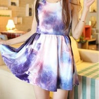 Tie-dye cultivate one's morality dress