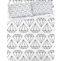 Wesley Bird Diamond Print 2 Sheet Set
