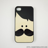 Mr. Mustache iPhone 5 Case, iPhone 4 case, iPhone 4s Cover , Hard Plastic iphone 5 Cover, cases
