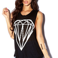Basic Diamond Graphic Muscle Tee | FOREVER 21 - 2000076307
