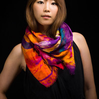 Orchid Bloom Scarf