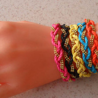 Friendship Bracelets Choose Only ONE 5 different by SwedishShop
