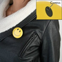 Smiley Face Spy Button Hidden Camera DVR by Brickhouse Security