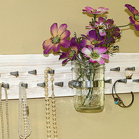 Jewelry Storage Organizer Necklace Rack