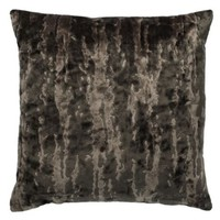 "Whistler Pillow 24"" - Charcoal 