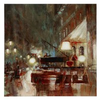Piano Bar | Canvas | Z Gallerie