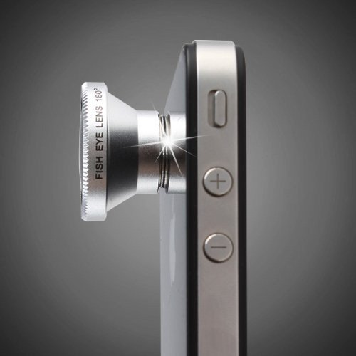 3 in 1 Camera Lens Kit for Apple iPhone 4 iPad