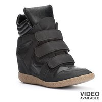 Candie's Wedge Sneakers - Women
