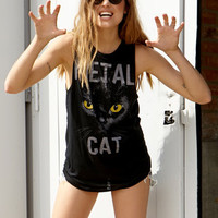 Metal Cat Muscle Tee | FOREVER 21 - 2049256954