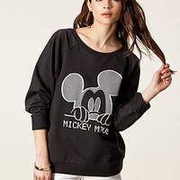 Print Mickey Mouse Sweat, River Island