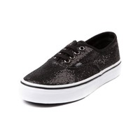 YouthTween Vans Authentic Sequined Skate Shoe, Black Glitter, at Journeys Shoes