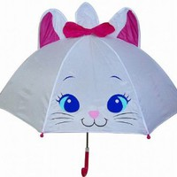 Disney the Aristocats Marie Cat Umbrella with Cat Ears 48cm for Kids
