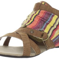 Big Buddha Women's Kind Ankle-Strap Sandal