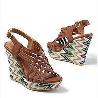 Women's Slingback wedge