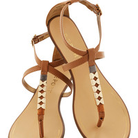 Golden Morning Sandal in Camel | Mod Retro Vintage Sandals | ModCloth.com