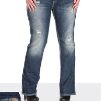 Silver Jeans Co. ® Suki Destructed Jeans- Short