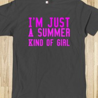 SummerGirl - SEDesigns - Skreened T-shirts, Organic Shirts, Hoodies, Kids Tees, Baby One-Pieces and Tote Bags