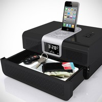 Cannon Biometric RadioVault Safe and Radio -RV-01 BLK - Amazing Way to Securely Store Your Valuables!