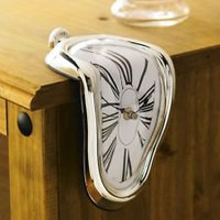 Time Warp Shelf Clock