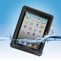 The Waterproof iPad Case - Hammacher Schlemmer