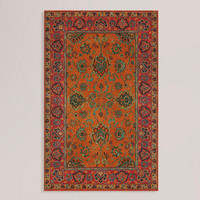 Mandarin Agra Wool Rug | World Market