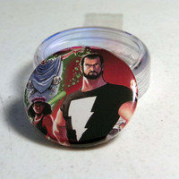 "Comic Book 1.5"" Button// Mage// Kevin Matchstick"
