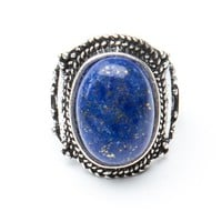 Brandy ♥ Melville |  Vintage Blue Stone Ring - Jewelry - Accessories