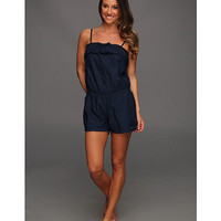 Levi's® Juniors Tania Romper Best Friend Blue - Zappos.com Free Shipping BOTH Ways