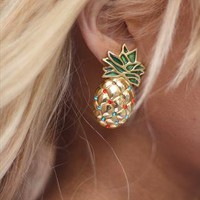 Vintage Pineapple Earrings from Rag & Bow...Follow me for more:)