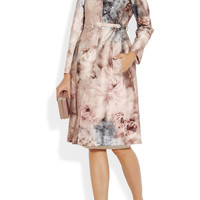 Valentino | Printed cotton and silk-blend coat | NET-A-PORTER.COM