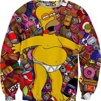Drunk Homer Sweater
