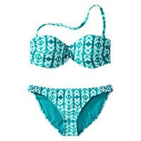 Converse® One Star® Women's 2-Piece Bandeau Swimsuit - Aqua