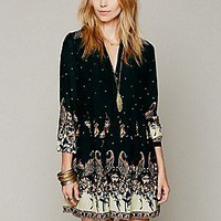 Free People  Sierra Valley Shirtdress at Free People Clothing Boutique