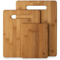 Totally Bamboo 20-7930 3-Piece Cutting Board Set