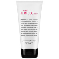 Sephora: Philosophy : Total Matteness™ Pore-Minimizing & Mattifying Cleanser Mask : masks-skincare