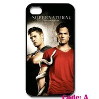 Amazon.com: Supernatural TV Series, Jensen, Jared, Misha Iphone 4 4s Case Cover ,Apple Plastic Shell Hard Case Cover Protector Gift Idea diycellphone Store: Cell Phones & Accessories