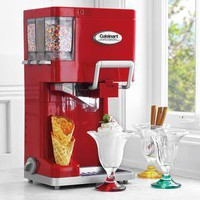 Red Cuisinart Mix It In Soft-Serve Ice Cream Maker - Sur La Table