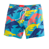 "7"" board shorts in whale print - vacation shop - Men's Men_Special_Shops - J.Crew"