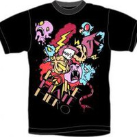 LoveHateHero T-Shirt - Cartoon