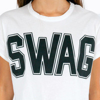 Swagged Out  Crop Top $18