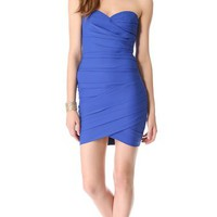 BCBGMAXAZRIA Strapless Mini Dress | SHOPBOP
