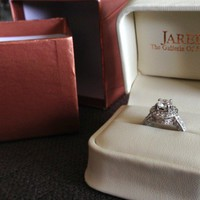 Have You Seen the Ring?: 1.84 Carat Vintage-Style Diamond Engagement Ring