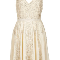 **LIMITED EDITION Bead Midi Dress - Topshop USA