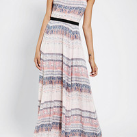 Ecote Rosarita Strapless Maxi Dress