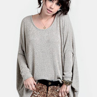 In Silence Marled Sweater