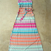 Boardwalk Maxi Dress [3107] - $42.00 : Vintage Inspired Clothing & Affordable Summer Frocks, deloom | Modern. Vintage. Crafted.