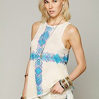 Chaser Brand  Tie Dye Flow Tank at Free People Clothing Boutique
