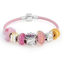 Amazon.com: Bling Jewelry 925 Sterling Birthday Gift Pandora Compatible Childrens Bead Bracelet: Jewelry